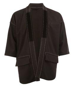 Wooster + Lardini | Open Shortsleeved Jacket Mens Size 50 Cashmere