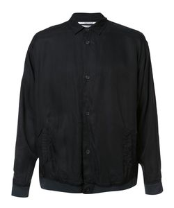 Robert Geller | The Cupro Shirt Jacket Mens Size 52 Cupro/Tencel