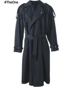 E. Tautz | Double Breasted Trench Coat Mens Size 40 Wool