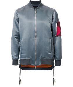 Yoshio Kubo | Sleeve Detail Bomber Jacket Mens Size 1 Cotton/Nylon