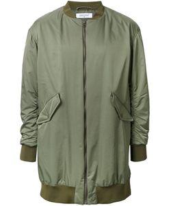 Fad Three | Oversized Bomber Jacket Mens Size Medium Nylon/Polyester