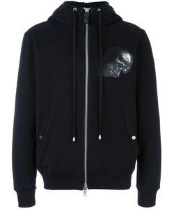 Cy Choi | Skull Print Hooded Jacket Mens Size Medium Cotton/Polyester