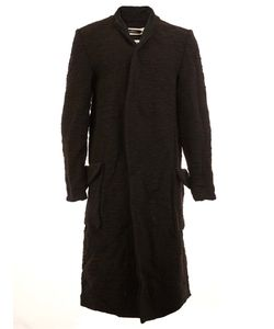 A New Cross | Flap Pockets Ribbed Coat Mens Size Large