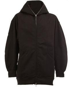 The Soloist | Zipped Neck Hooded Jacket Mens Size 31 Cotton/Calf
