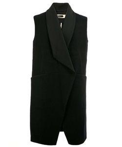 A New Cross | Shawl Lapel Sleeveless Jacket Mens Size Small