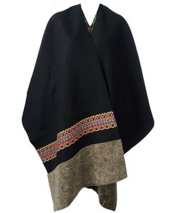 Ermanno Gallamini | Double Face Poncho Womens Cotton/Cashmere