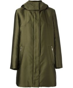 Moncler Gamme Rouge   High Neck Hooded Coat Womens Size 0