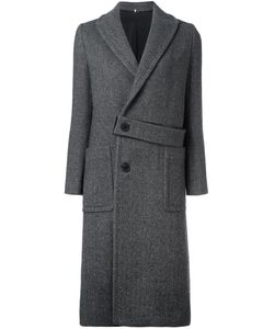 Numerootto | Belt Detailing Mid Coat Womens Size 38 Wool/Cashmere