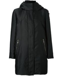Moncler Gamme Rouge   Marrube Parka Coat Womens Size 3 Polyester/Silk/Feather