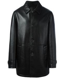 Desa | 1972 Supertuin Coat Mens Size 50 Leather/Wool/Polyester/Acetate