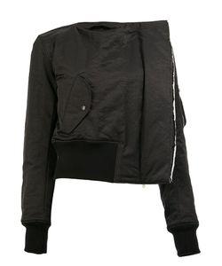 Yang Li | Collarless Jacket Womens Size 40 Viscose/Polyamide/Polyester