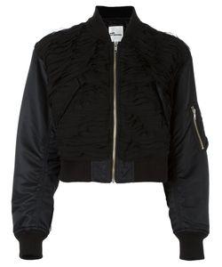 Comme Des Garçons Noir Kei Ninomiya | Cropped Bomber Jacket Womens Size