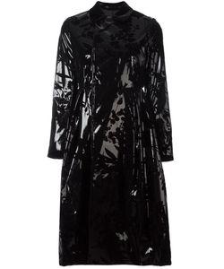 Comme Des Garçons Noir Kei Ninomiya | Iridescent Floral Coat Womens Size