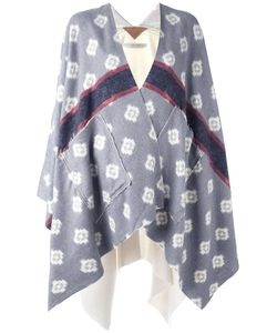 Ermanno Gallamini | Patched Pockets Poncho Womens Acetate/Other Fibers/Cotton