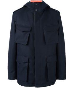 Wooster + Lardini | Pocket Front Jacket Mens Size 52 Wool/Polyurethane/Spandex/Elastane/Polyester