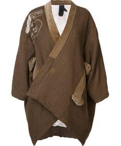 Bernhard Willhelm | Oversized Jacket Womens Size Medium Cotton/Polyester/Linen/Flax