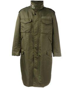 Casely-Hayford | Oversized Parka Mens Size 40 Cupro/Nylon/Polyester