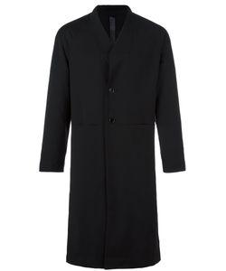 Odeur | Box Single Breasted Coat Adult Unisex Size Medium Wool/Spandex/Elastane