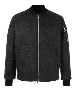 Odeur | Lazer Cut Bomber Jacket Adult Unisex Size Small Polyester/Spandex/Elastane/Viscose/Virgin