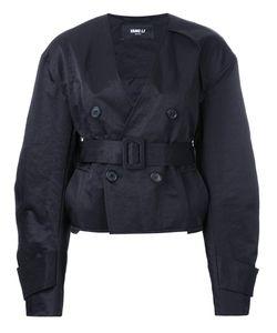 Yang Li | Short Aviator Jacket Womens Size 42 Polyamide/Polyester/Viscose