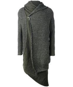 Daniel Andresen | Kalimeris Cardi-Coat Mens Size Large Linen/Flax/Virgin Wool