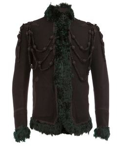 The Soloist | Shearling Jacket Mens Size 52 Lamb Skin/Cupro/Cashmere/Wool
