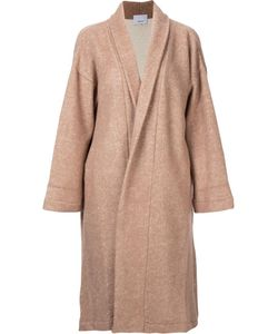 08Sircus | Oversized Coat Womens Size 0 Wood/Nylon/Mohair/Wool