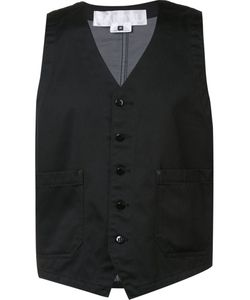 Ganryu Comme Des Garcons | Buttoned Waistcoat Mens Size Medium Cotton/Polyester