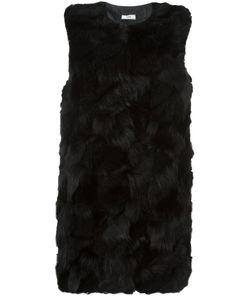 Desa Collection | Fur Gilet Womens Size 40 Acetate/Viscose/Sheep Skin/Shearling