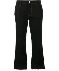 Jour/Né | Cropped Flared Jeans Womens Size 38 Cotton/Spandex/Elastane