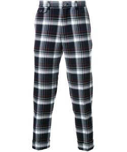 Education From Youngmachines | Plaid Cropped Trousers Mens Size 1 Polyester