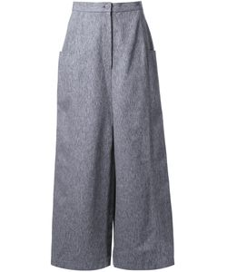 Anrealage | Square Till Cropped Pants Womens Size 38 Cotton