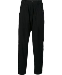 Ziggy Chen | Drop-Crotch Trousers Mens Size 48 Wool
