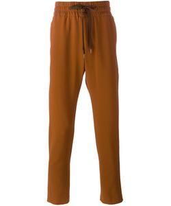 Cmmn Swdn | Drawstring Trousers Mens Size 46 Spandex/Elastane/Modal/Viscose