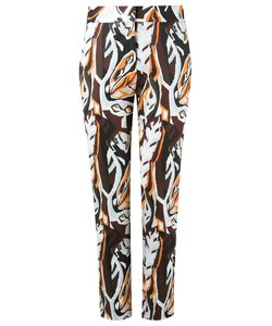 Andrea Marques | High-Waisted Trousers Womens Size 36 Cotton