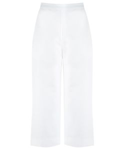 Andrea Marques | High-Waisted Culottes Womens Size 42 Cotton