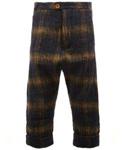 Song For The Mute | Plaid Cropped Trousers Mens Size 46