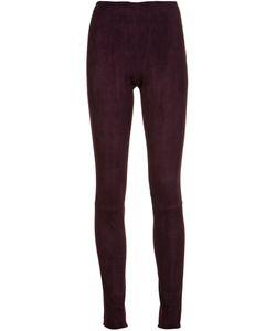 Stouls | Carolyn Leggings Womens Size Xs Lamb Skin/Cotton/Lyocell/Spandex/Elastane