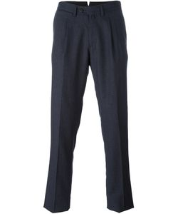 Borrelli | Classic Tapered Trousers Mens Size 54 Virgin Wool/Cotton/Polyester