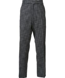 Cmmn Swdn | Tapered Trousers Mens Size 46 Viscose/Polyester/Spandex/Elastane