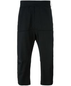 Odeur | Beyond Cropped Trousers Adult Unisex Size Medium Wool/Lyocell