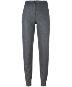 Aalto | Tapered Tailored Trousers Womens Size 38 Cotton/Wool/Polyamide
