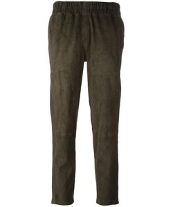 Inès & Maréchal | Elasticated Waistband Trousers Womens Size 38 Lamb