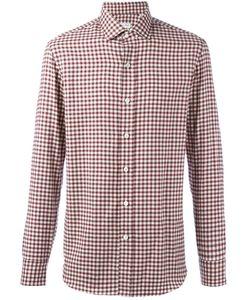 Salvatore Piccolo | Checked Classic Shirt Mens Size 40 Cotton