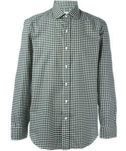 Salvatore Piccolo | Checked Classic Shirt Mens Size 42 Cotton