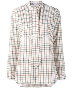 Marie Marot | Georgia Checked Blouse Womens Size Small Cotton
