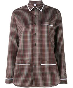Marie Marot | Kate Checked Shirt Womens Size Small Cotton