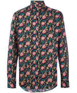Gabriele Pasini | Floral Print Shirt Mens Size 42 Cotton