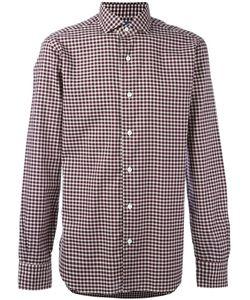 Barba | Checked Shirt Mens Size 43 Cotton