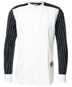 Education From Youngmachines | Pleated Front Shirt Mens Size 2 Cotton